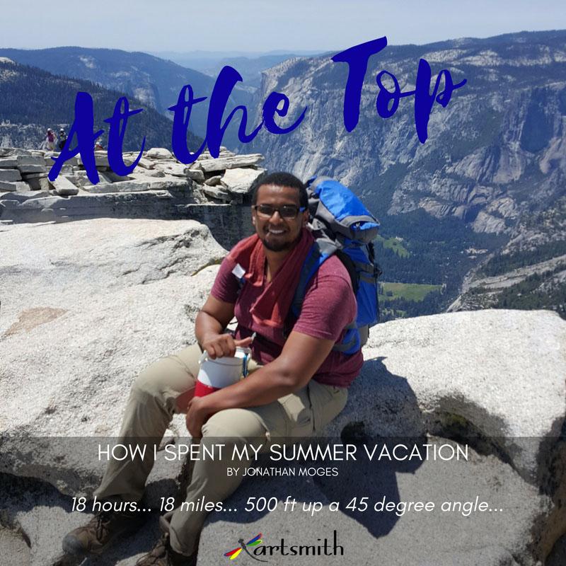 Jonathan's Summer 2017