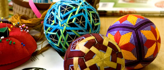 Temari - The Art of Japanese Thread Balls