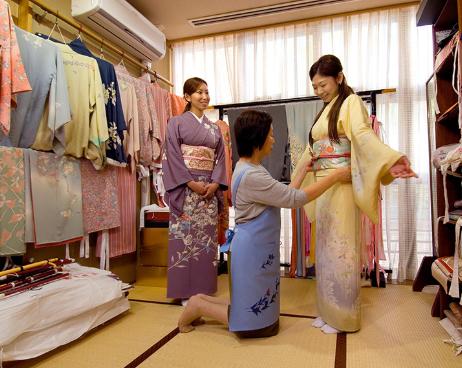 Rent a kimono or yukata