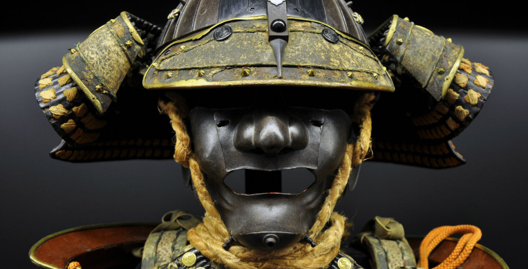 The armor and masks of Samurai
