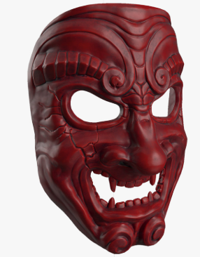 Samurai Mask (Somen)